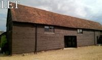 Praewood Barn - Front Elevation