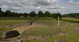 The Roman Theatre of Verulamium is part of the Gorhambury Estate